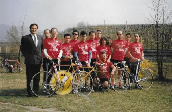 Bike Club Eppan/Bici Club Appiano erster Sponsor RAS