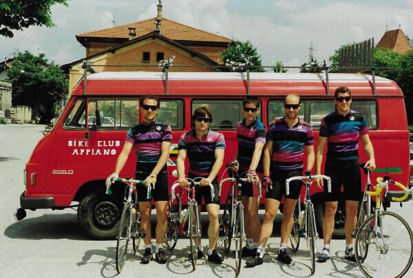 Bike Club Eppan/Bici Club Appiano neuer Vereinsbus 1988